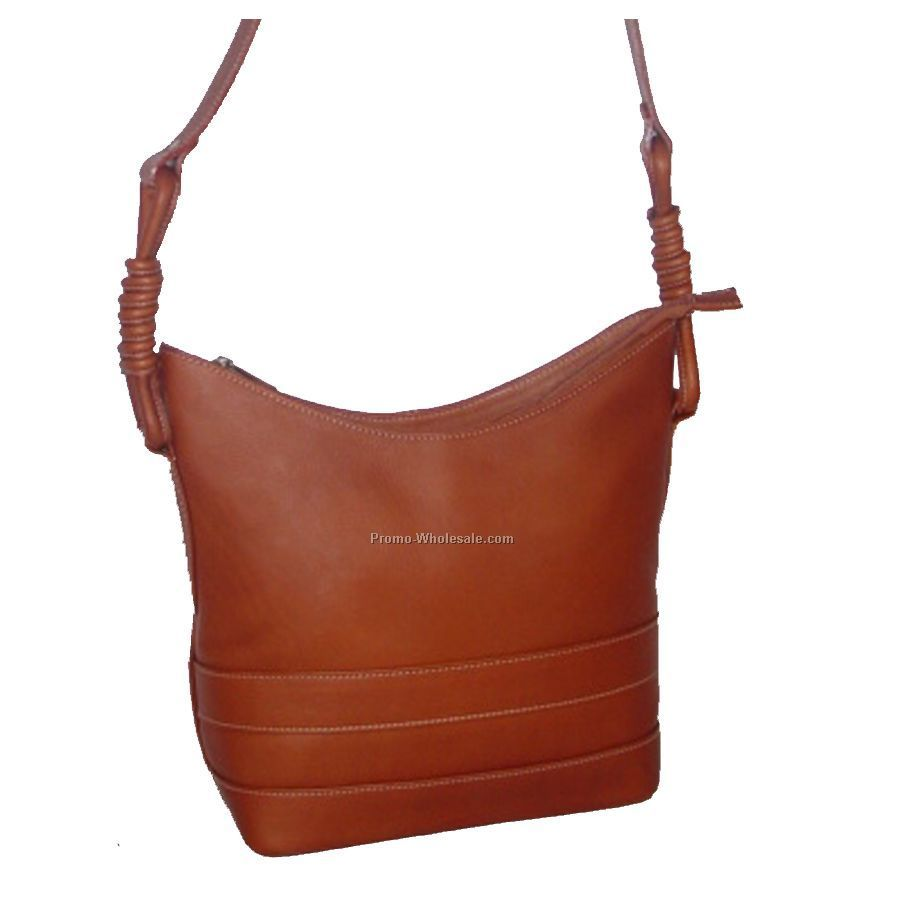 Shoulder Bag With Decorative Strap