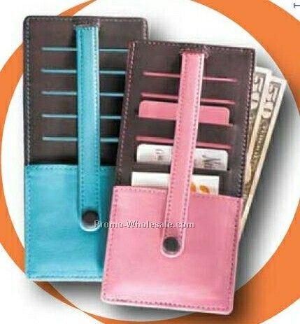 Stacked Credit Card Holder/ Wallet