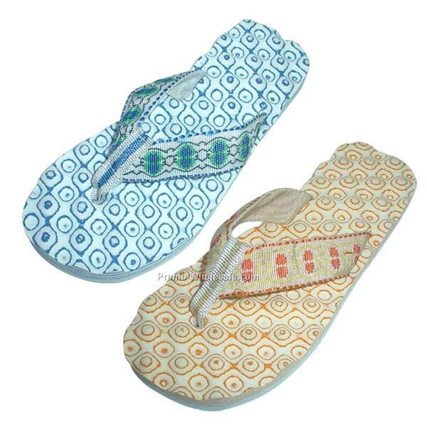 Terry Cloth Slipper Shoes
