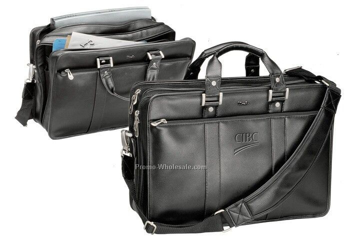 The Chairman - Leather Briefcase Bag