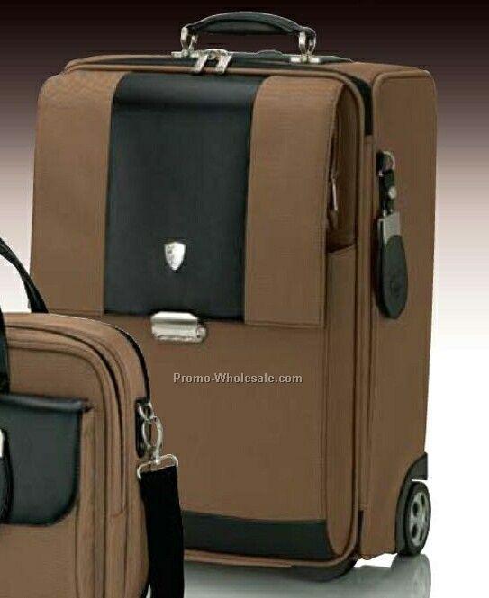 "Tonino Lamborghini Light Brown Trolley Case 14-1/2""x20""x10"""