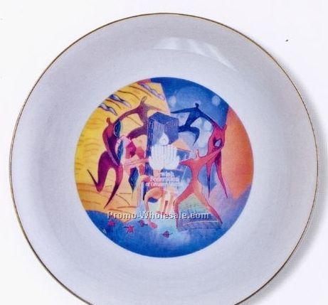 "Tudor 9"" Porcelain Plate"