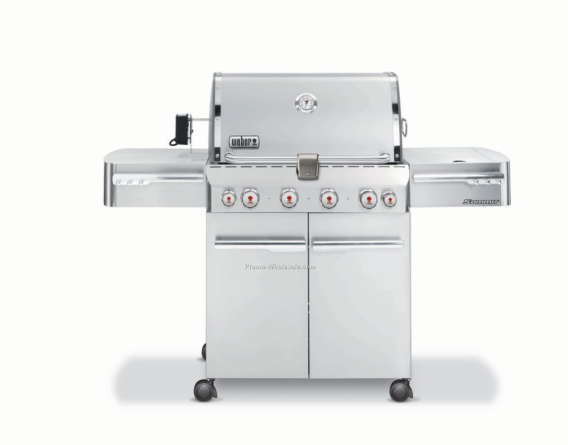 Weber Summit S-450 Stainless Steel Gas Grill