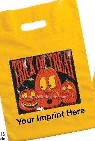 "12""x17"" Yellow 2 Mil. Halloween Bags"