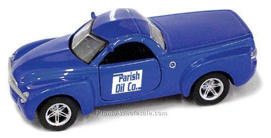 "3-1/2""x1-1/4""x3/4"" Blue Chevrolet Ssr Truck"