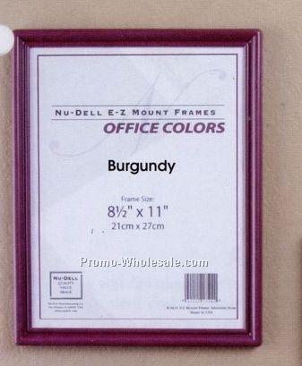 """6""""x8"""" Ez Mount Document Frames W/ Glass Face (Black)"""