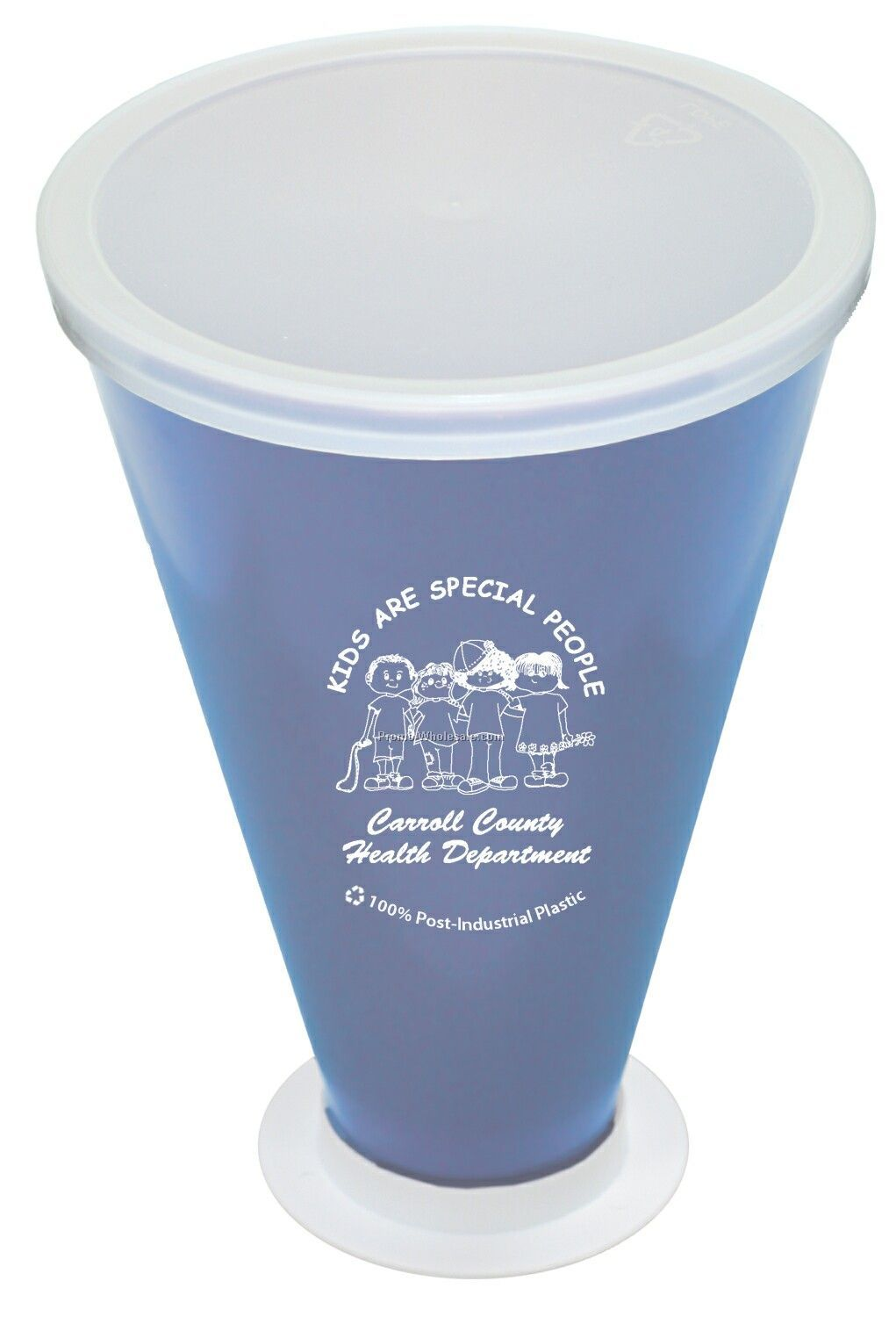 """7 1/2"""" Recycled Megaphone (1 Color/1 Side)"""