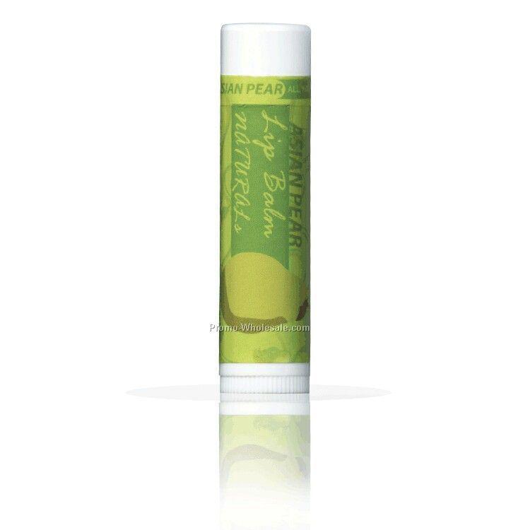 All Natural Asian Pear Lip Balm With Custom Leash