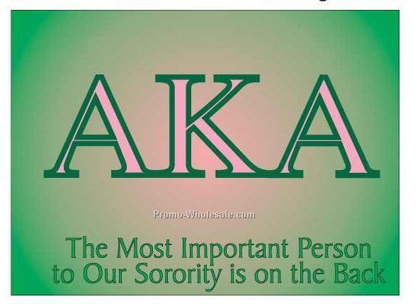 "Alpha Kappa Alpha Sorority Letters Photo Hand Mirror (3-1/8""x2-1/8"")"