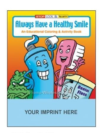 Always Have A Healthy Smile Coloring Book