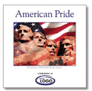 American Pride Patriotic Music Compact Disc In Jewel Case (15 Songs)