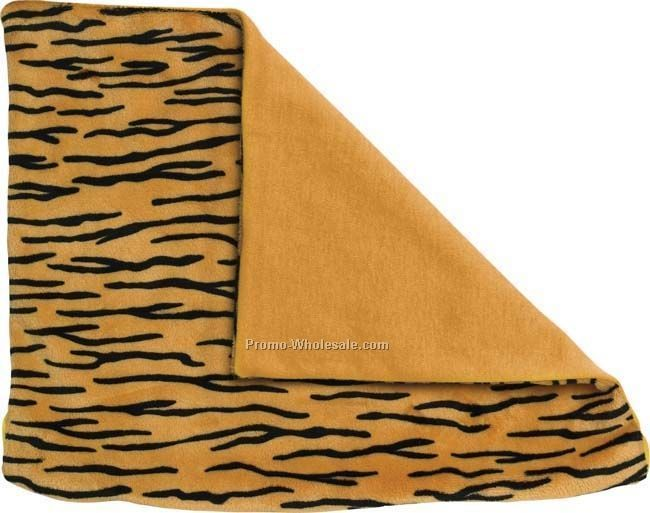 Animal Print Decor Pillow - Tiger