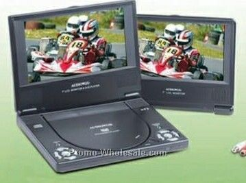 Audiovox Dual Screen Portable DVD Player