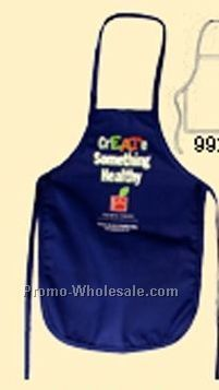 Child's Apron With Loop Neck & Back Tie (Blank)