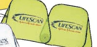 Collapsible Fabric Sunshade (Lime Green)