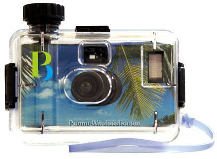 Custom Disposable Waterproof Camera With 27 Exposures