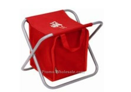 Folding Stool With Cooler