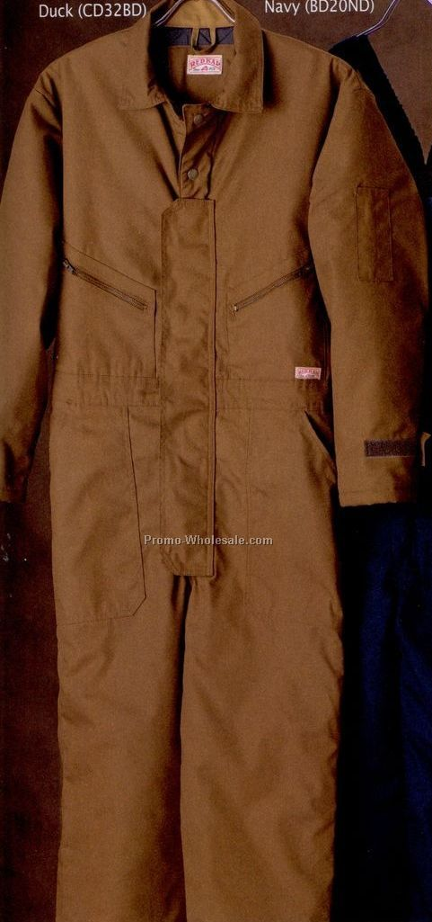 Men's 100% Cotton Duck Insulated Coverall