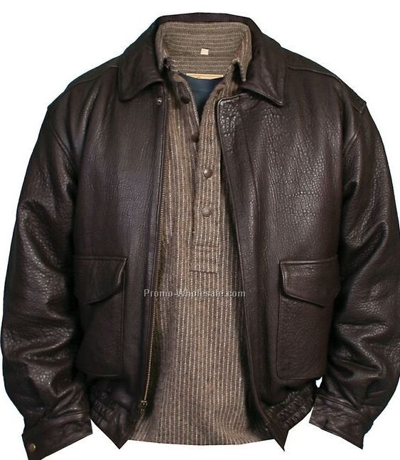 Men's Black Rugged Lamb Leather Jacket (S-2xl)