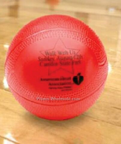 "Mini Vinyl Basketball (4"")"