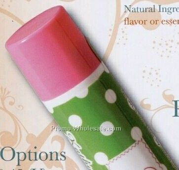 Natural Flavor Spf30 Lip Balm W/ Standard White Cap