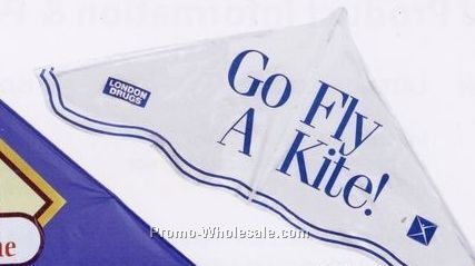 """Plastic Delta Kite (42""""x22"""")"""