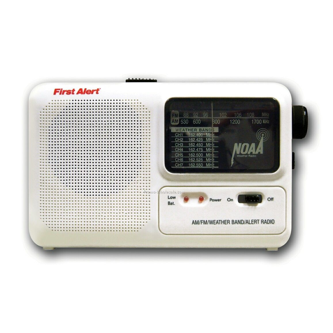 Portable AM/FM Emergency Alert Radio