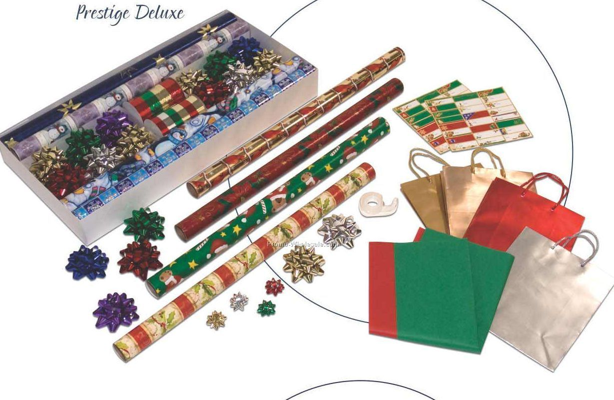 Prestige Deluxe Collection 8 Roll Holiday Kit