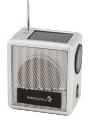 Solar Powered AM FM Radio