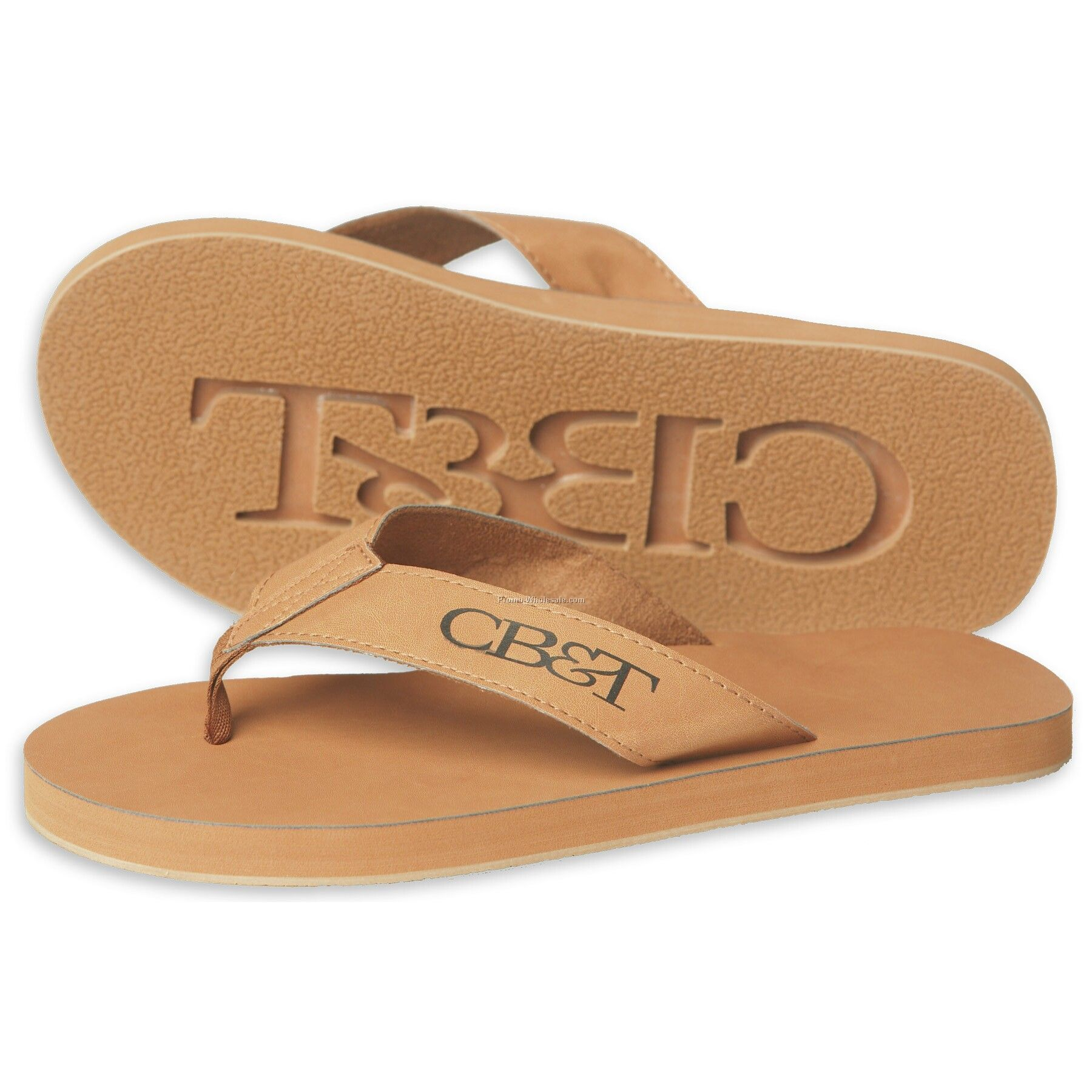 The Del Rey Sandals - Synthetic Leather With Arch Support (Domestic)