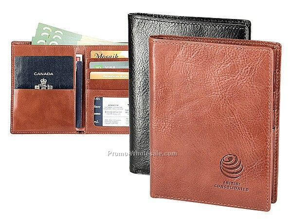 The Journey - Leather Passport Case