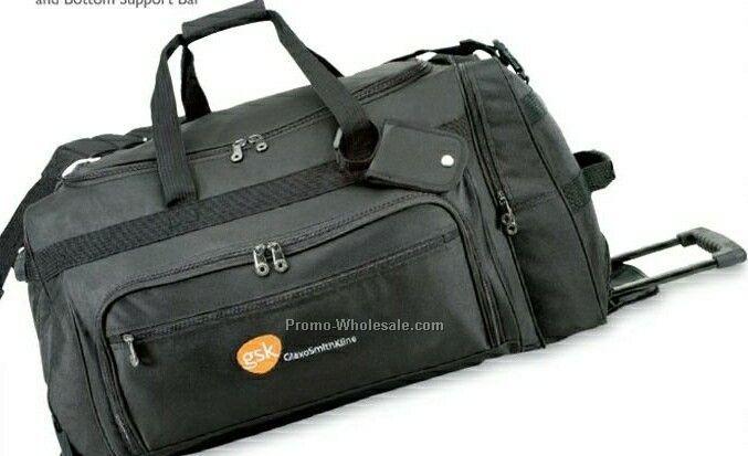 Titan Rolling Duffel Luggage Bag (Blank)