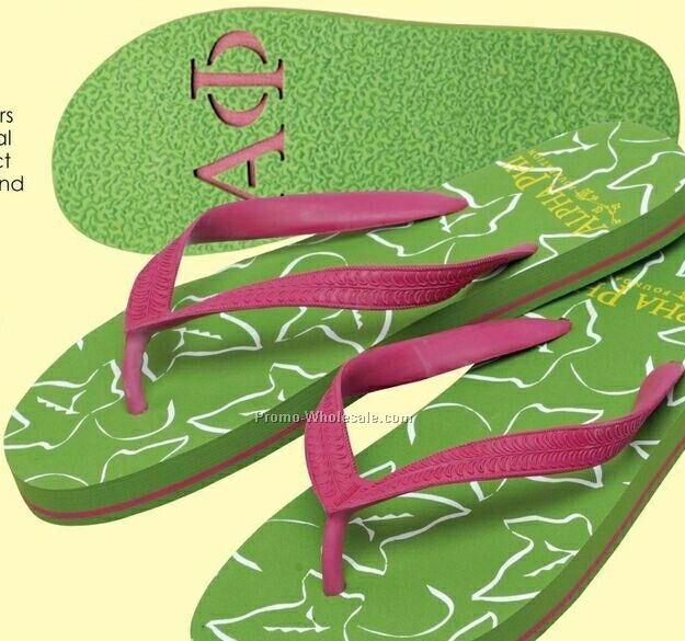 Zori Flip Flop - W/ Logo Footprin (Xxs-xl)