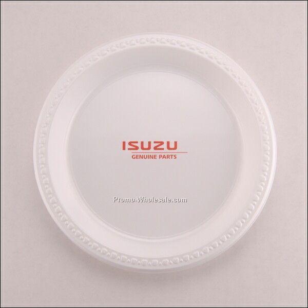 "10"" Round Plastic Plate"