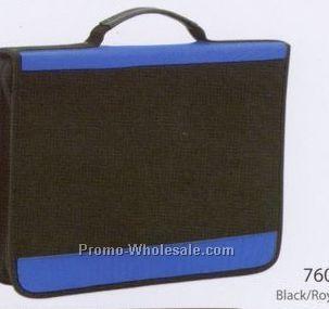 3 Ring Binder Polyester Padfolio (Blank)