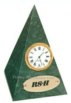 "3""x3""x4-1/2"" Imperial Pyramid Clock"