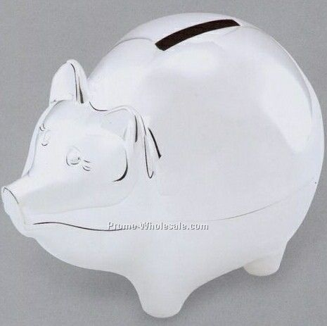 "4.1""x5-1/4"" Large Piggy Bank"