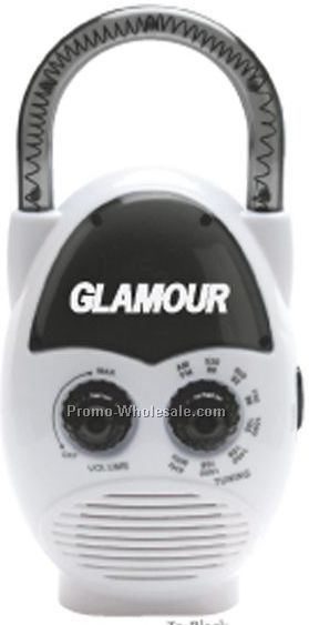 "6-1/4""x3""x2"" AM/ FM Shower Radio"