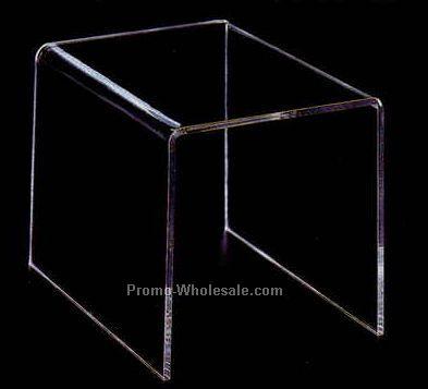 """Acrylic Countertop Riser (Square) 6""""x6""""x6"""""""