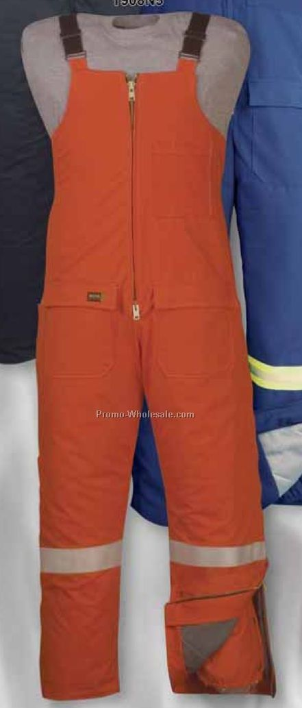 Flame Resistant 5-1/2 Oz. Nomex Iiia Bib Overall (Regular-tall S-xl)