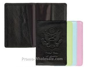 Mint Green Soft Lamb Leather Passport Cover