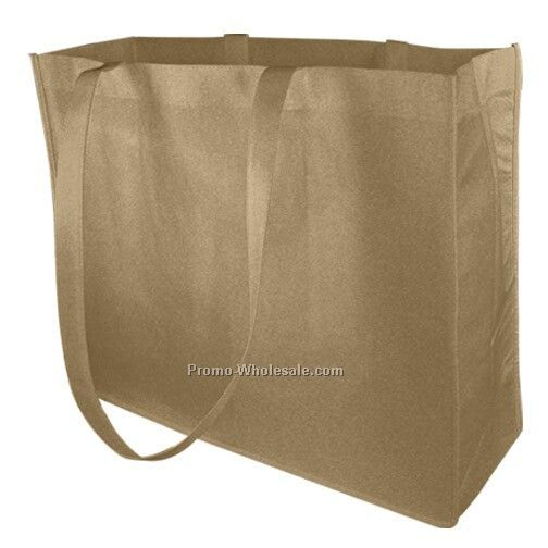 Non Woven Carry All Tote - Natural