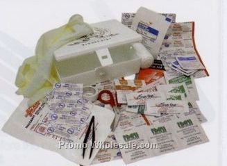 Outdoor Activity First Aid Kit W/ 4 Color Process Label