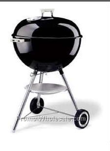 "Weber 22-1/2"" One Touch Silver Charcoal Grill"