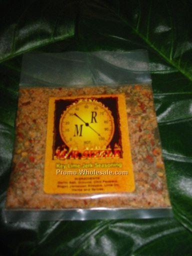 1/2 Oz. Caribbean Key Lime Jerk Savory Seasoning Pouch (No Msg)