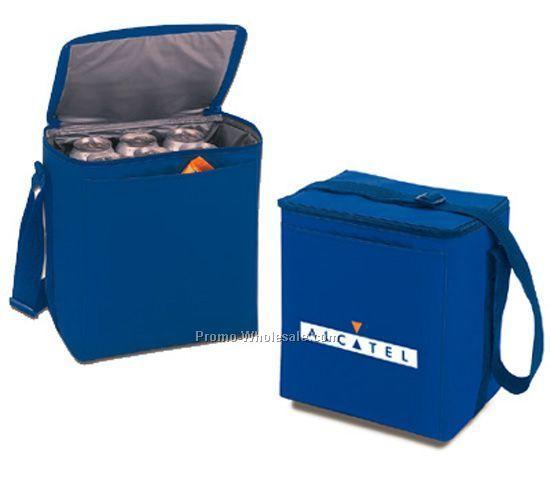 "10""x11""x7"" 12 Can Nylon Cooler Bag"