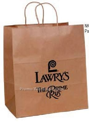 "14""x10""x14"" Natural Kraft Paper Shopping Bag"
