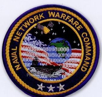 "2"" Custom Embroidered Patch With 75% Coverage"