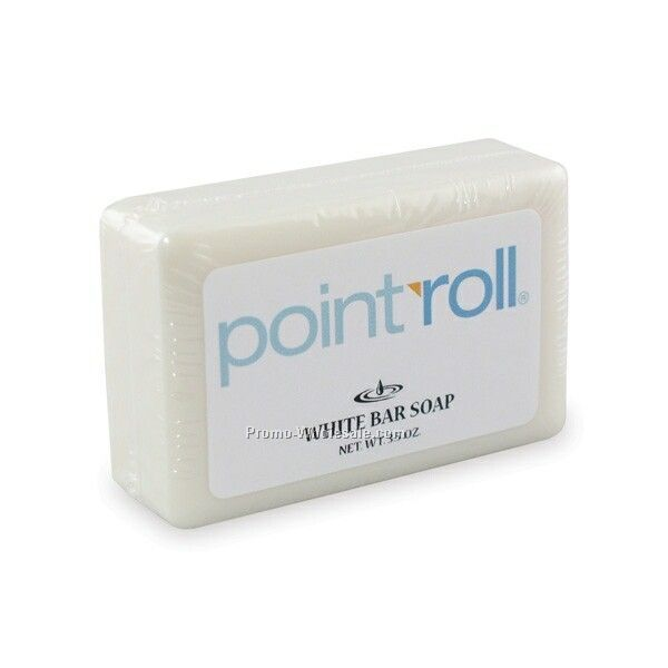 3-1/2 Oz. White Bar Soap (Shrink Wrap)