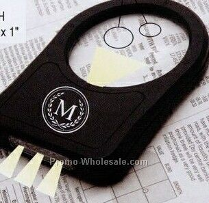 3` Tape Measure With Magnifier Glass